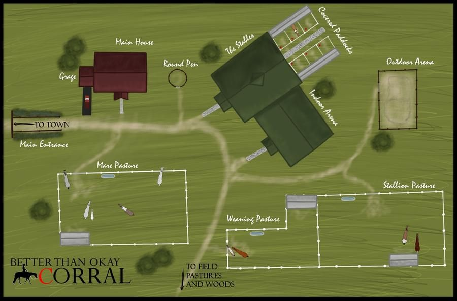 The Corral Stable Map by pomhappymydog on DeviantArt in
