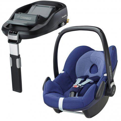 Maxi Cosi Pebble Car Seat And Familyfix Base Baby Car Seats Car Seats Cool Baby Stuff