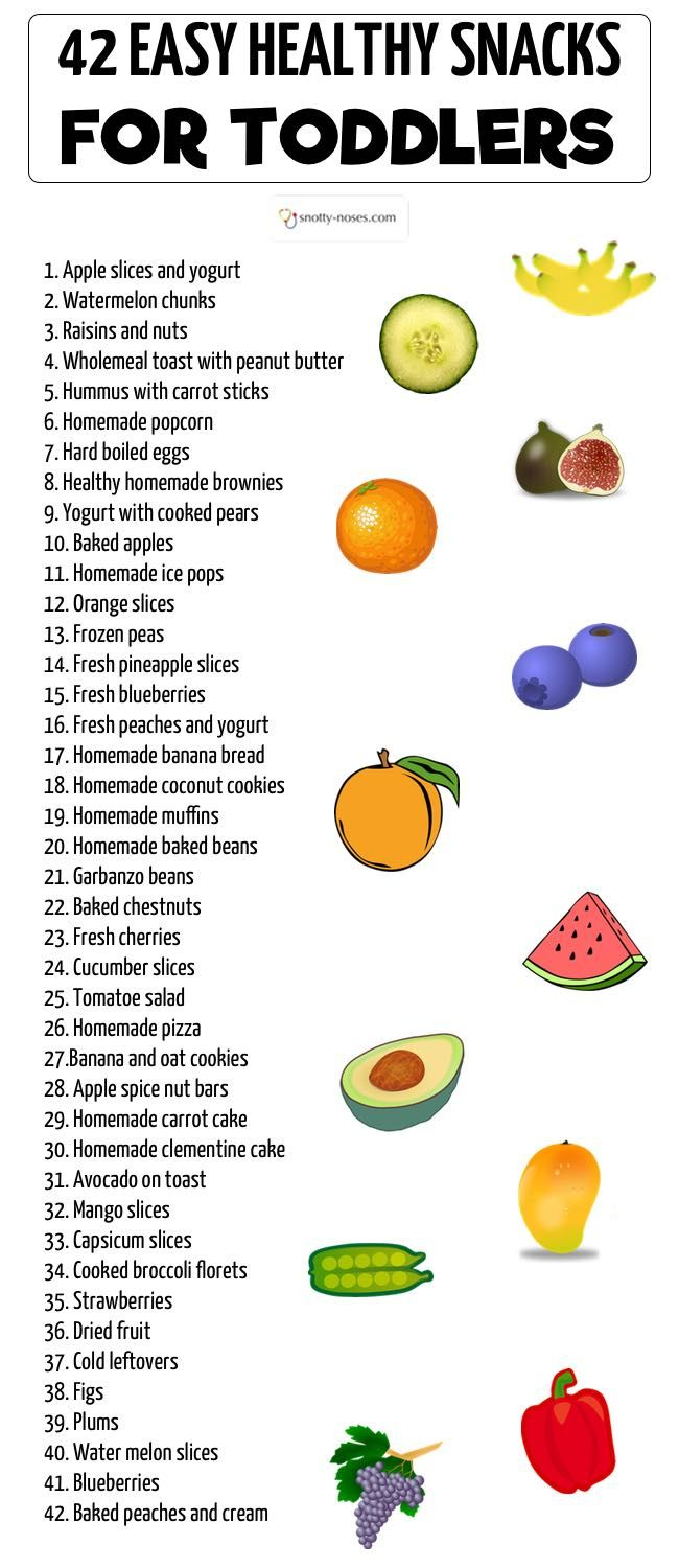 Quick Healthy Snacks For Toddlers And Young Kids