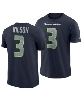 pretty nice 9f093 e978f Nike Men's Russell Wilson Seattle Seahawks Player Pride Name ...