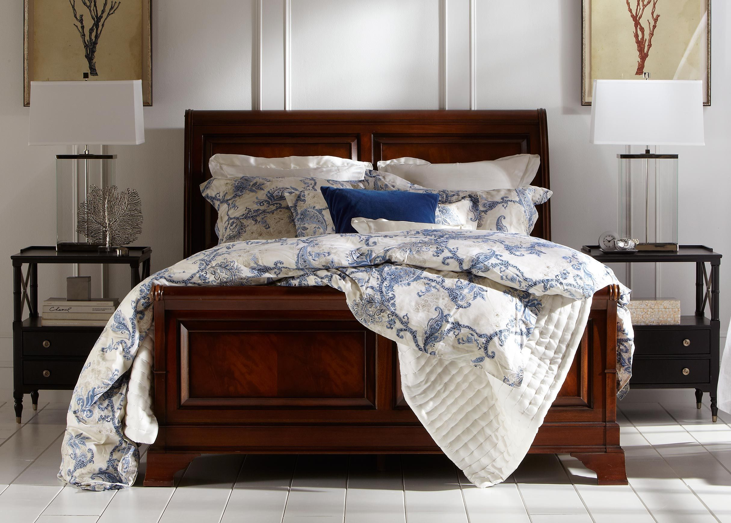 Paisley Bedroom Delmore Paisley Duvet Cover And Alexis Silk Comforter Ethan