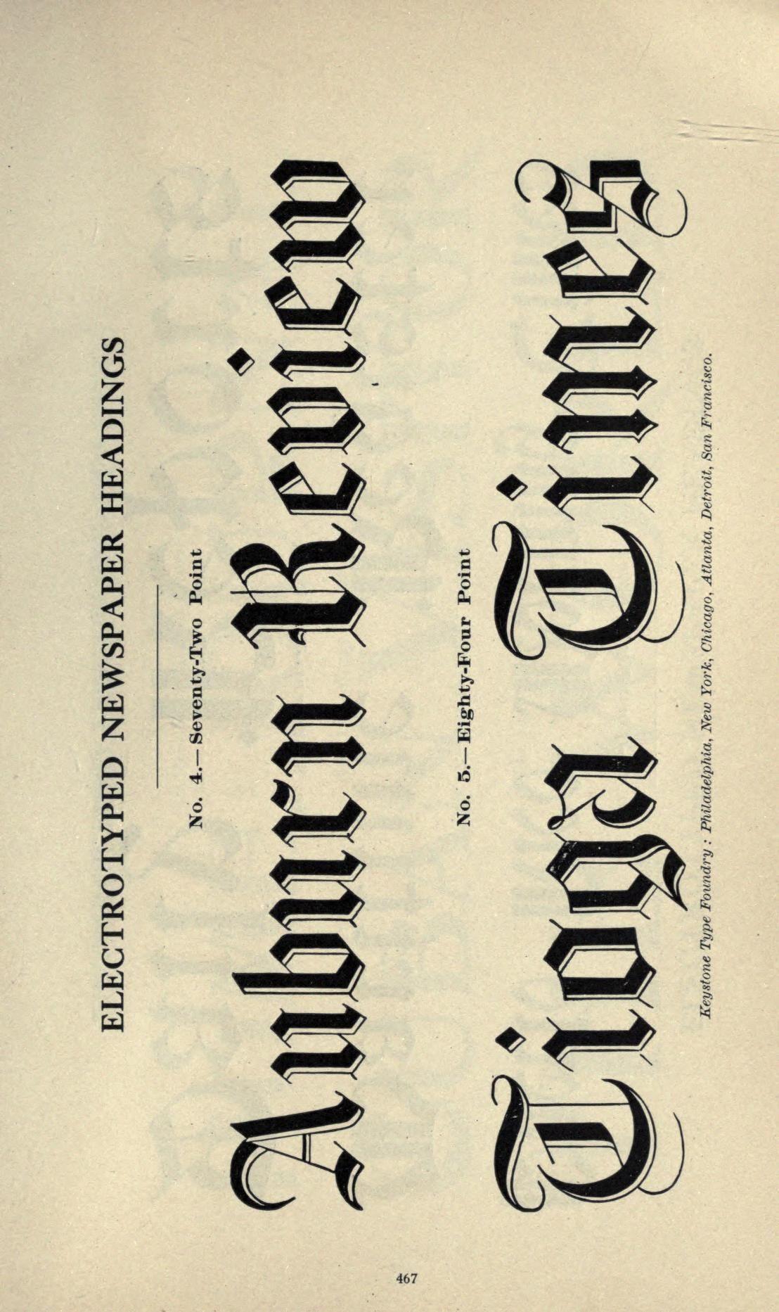 Abridged specimen book, type : nickel-alloy on ...