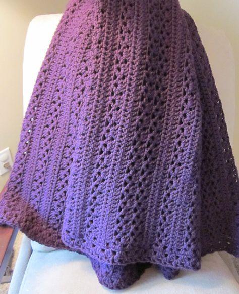 Country Cozy Afghan - Free Pattern | Crochet | Pinterest | Frazada ...