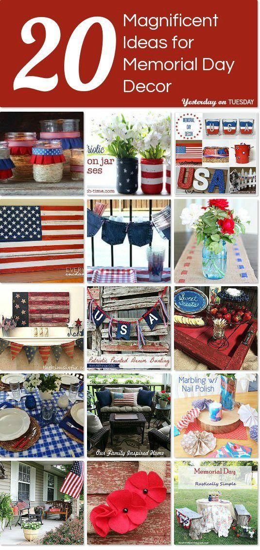 20 Magnificent Ideas For Memorial Day Decor Idea Box By Malia