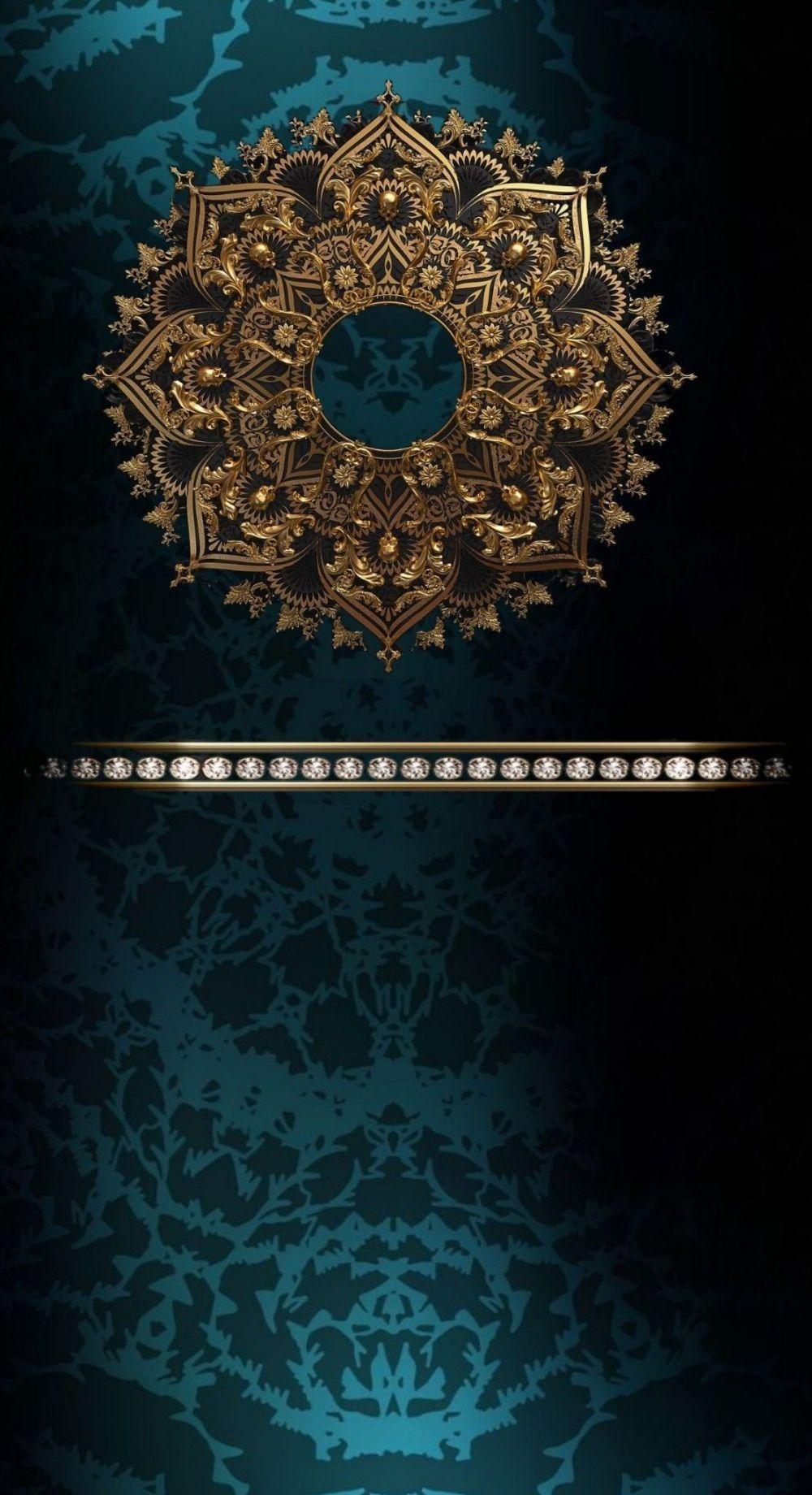 Pin By Islem Louaar On Artiste Art Wallpaper Iphone Mandala Wall Art Islamic Wallpaper