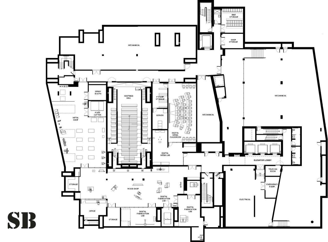 Architecture Building Plans