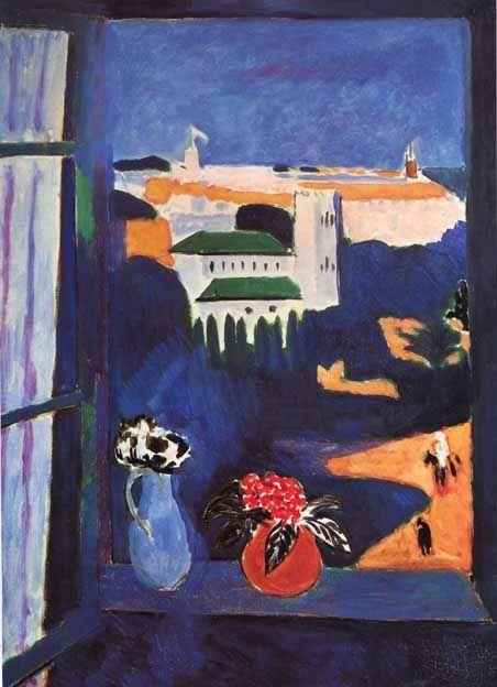 Henri Matisse, el pintor francés, llegó a Tanger en 1912 buscando el sol y su luminosidad... Os proponemos seguir los pasos de Matisse, en un espectacular circuito por Marruecos visitando las Ciudades Imperiales... www.1000tentaciones.com     (Matisse, Fenêtre à Tanger)
