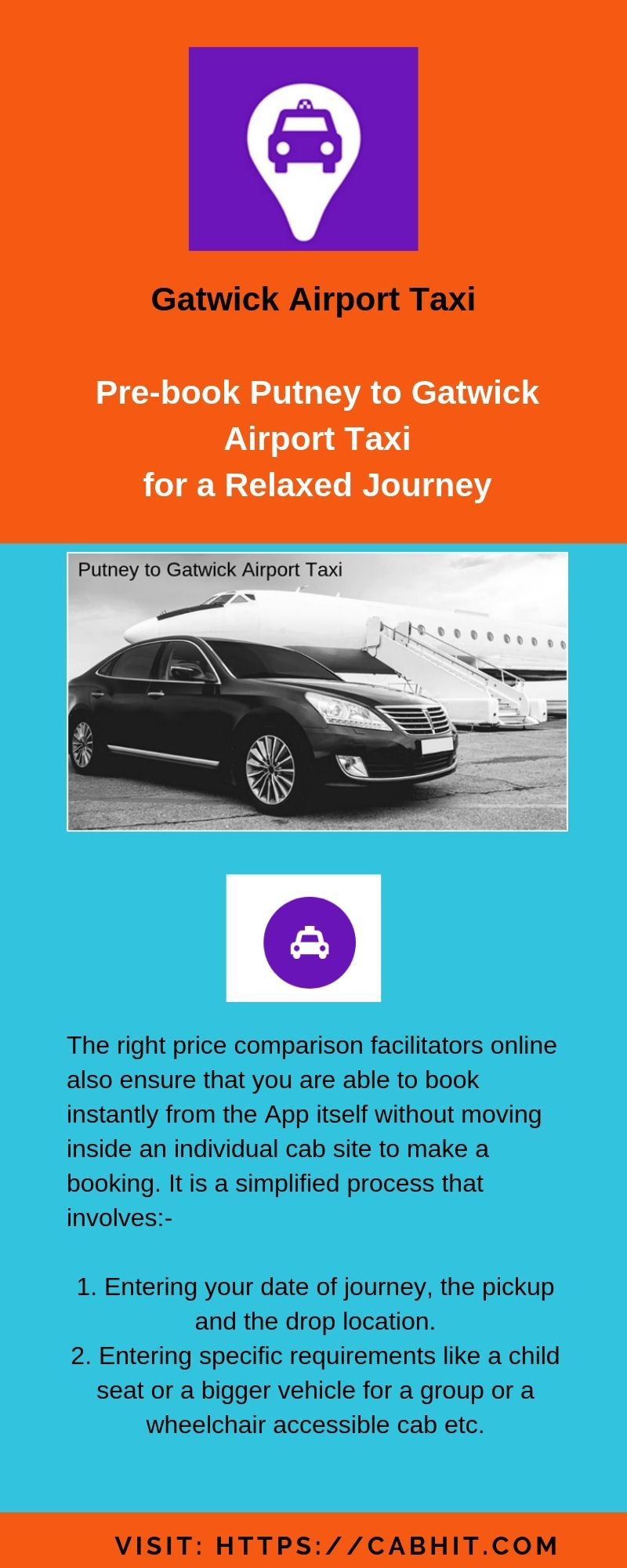 Get the cheap gatwick airport taxi services of save your