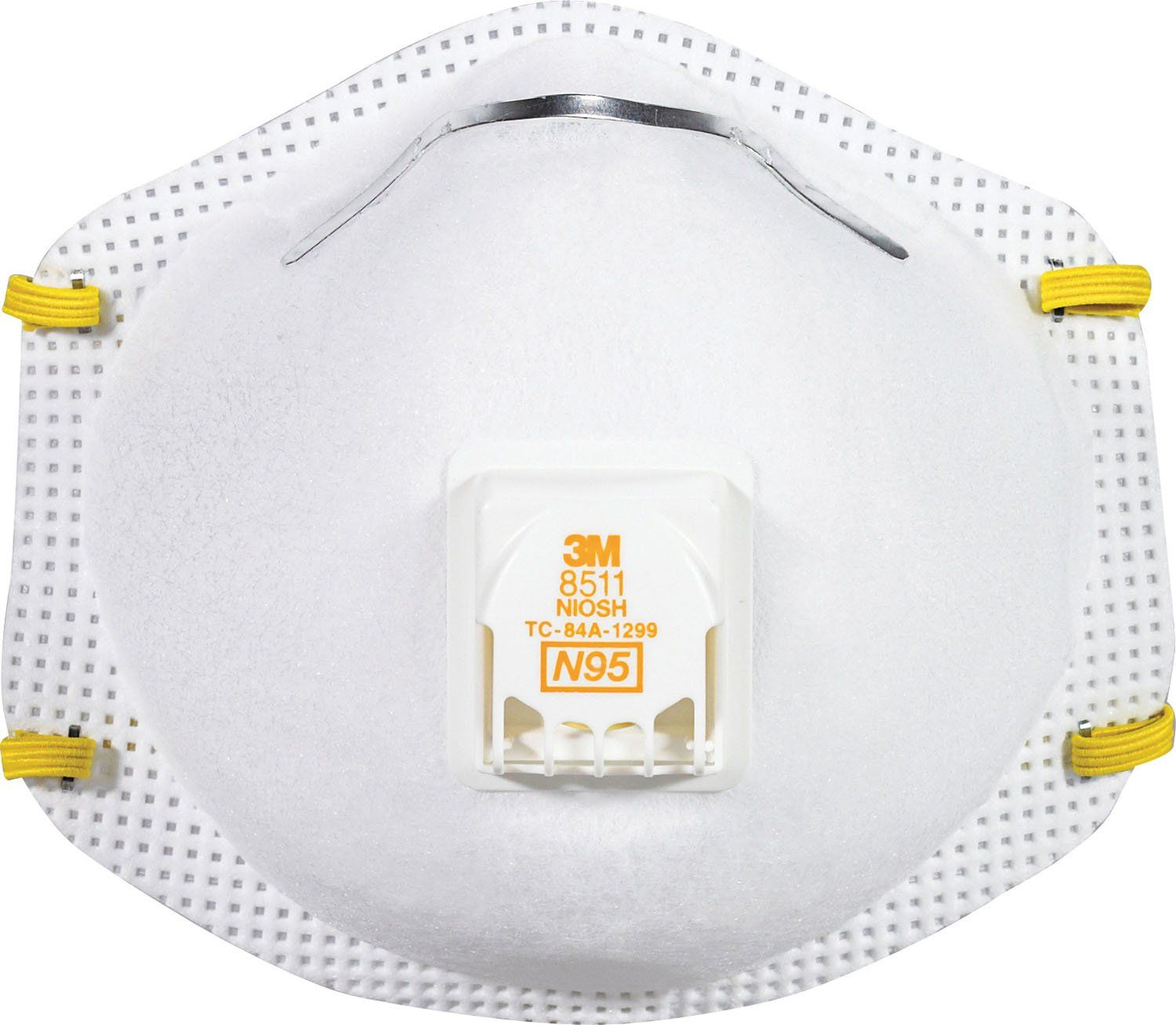 3m DParticulate Respirator Face Mask With Valve 10 Pack
