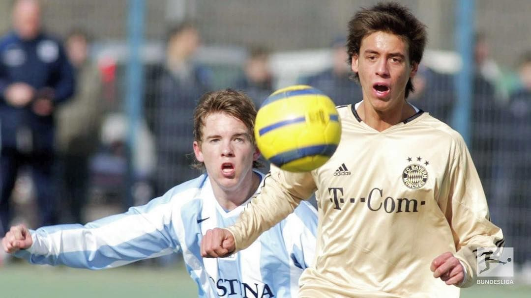 Julian Nagelsmann And Sandro Wagner A Couple Of Years Ago Wagner Sandro Healthy Nails