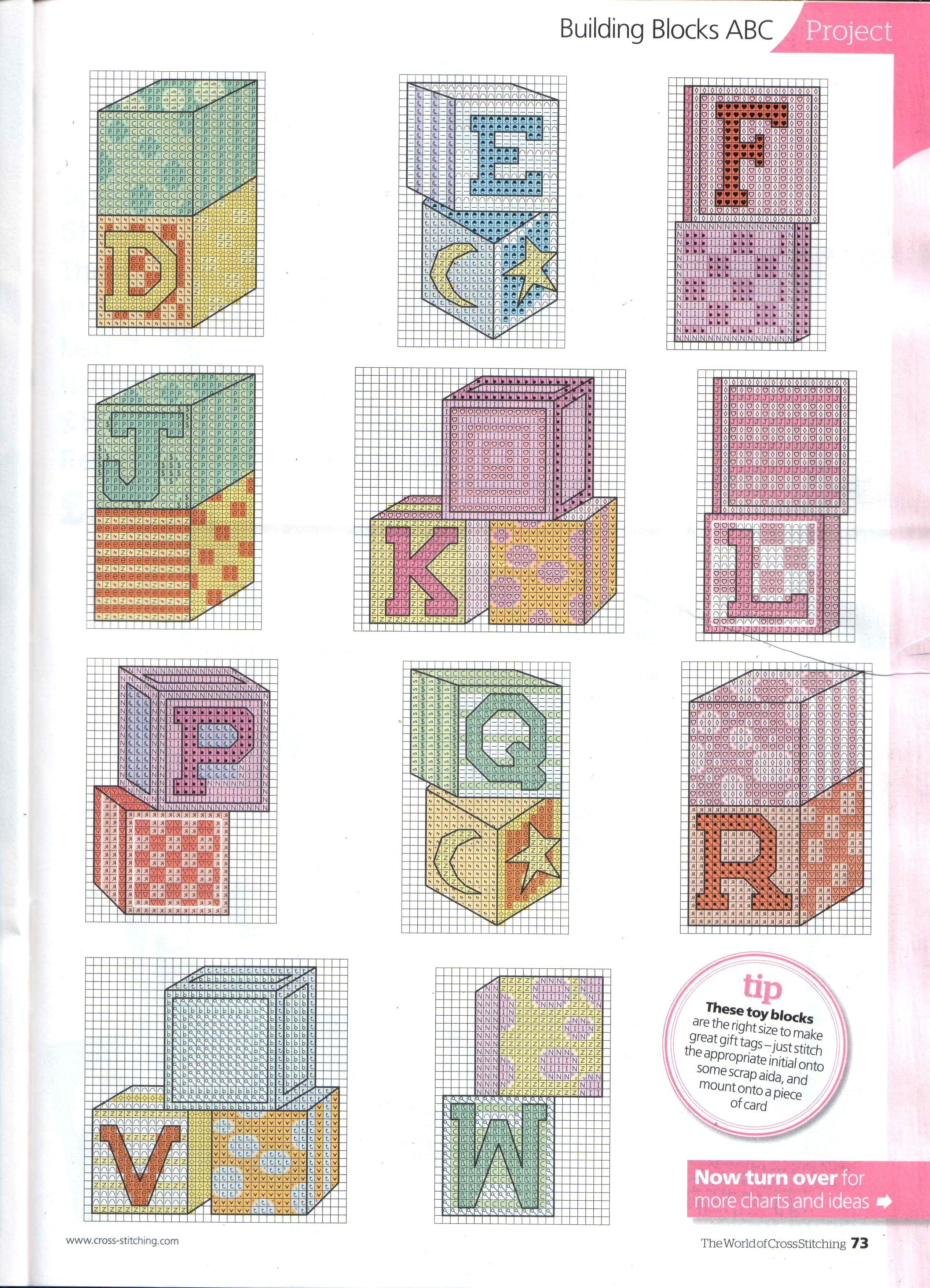 Betere Building blocks (With images)   Plastic canvas letters, Cross QX-35