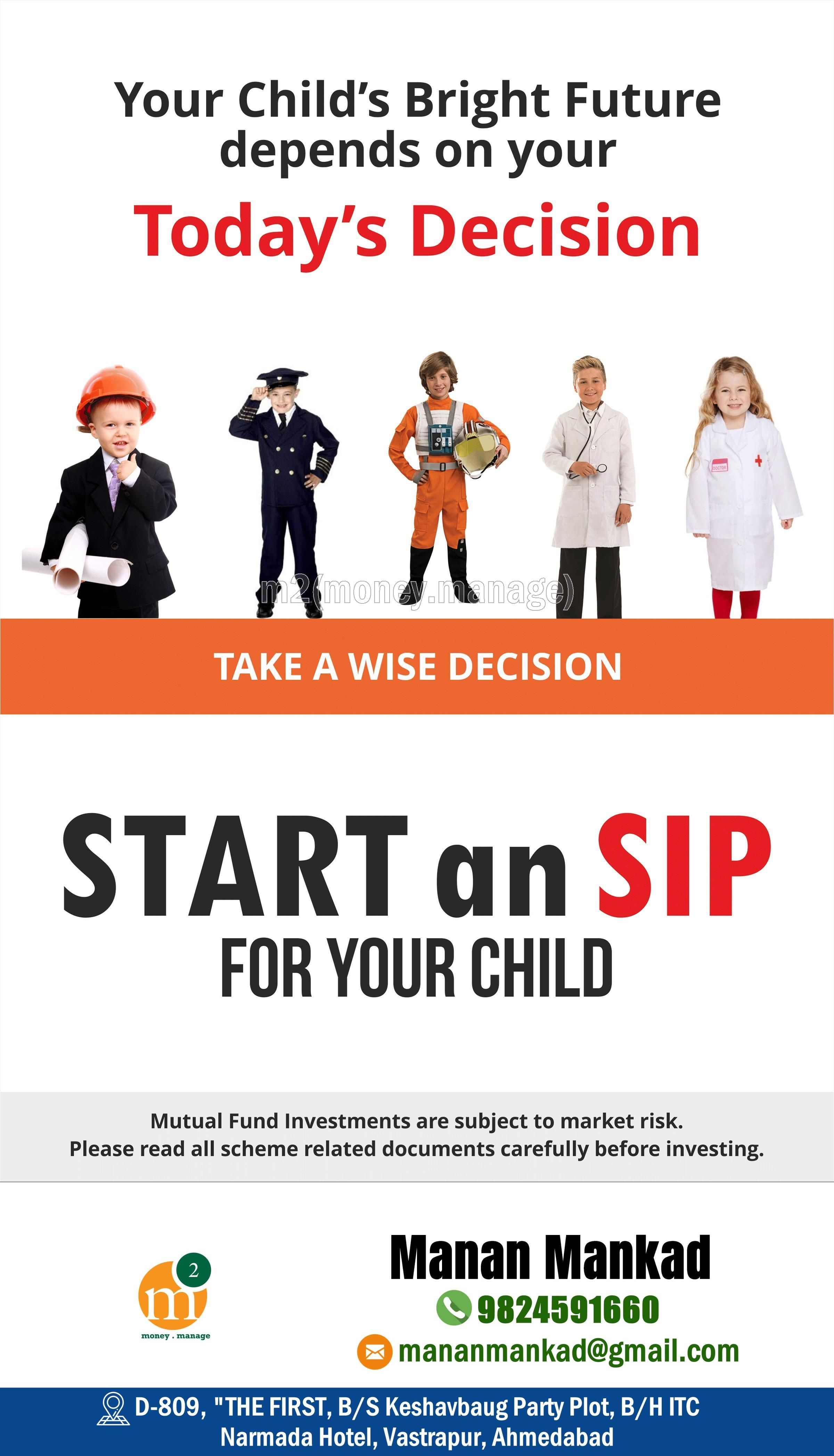 Kidseducation Personal Financial Planning Systematic Investment