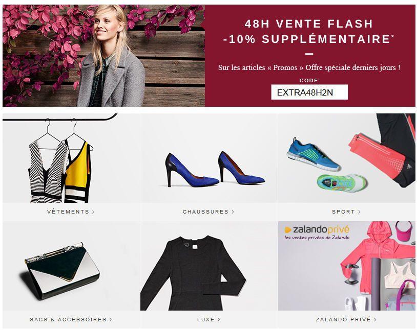 Zalando Chaussures Promo Chaussures et Vetements Tendance