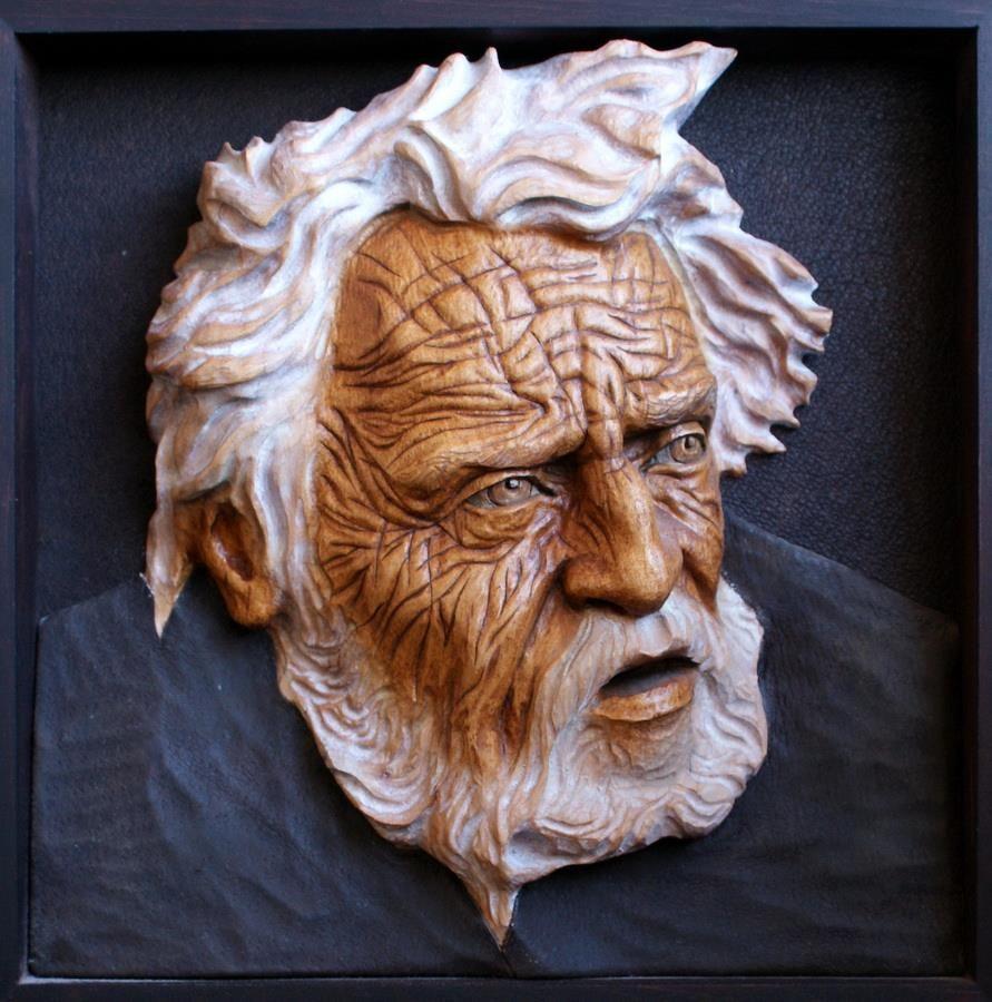 Impressive Carved Wood And Bone Figures By Andrey Sagalov 16 Carving Wood Sculpture Wood Carving Art