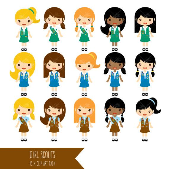girl scouts clipart brownie clip art daisy by clipartisan girl rh pinterest com girl scout daisy clipart girl scout daisy clipart