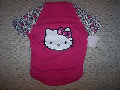 Hello Kitty Face Pink Tee  Female/Pet/Dog  Size L  NWT https://t.co/9dqQLnsXh3 https://t.co/5tYU6TEzaR