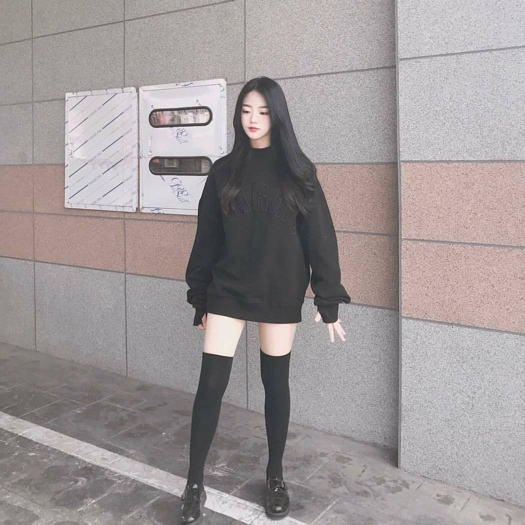 Pin by Hu00e0n Mu1eb7c Ku1ef3 on - Korean Fashion | Pinterest | Ulzzang Korean and Korean fashion