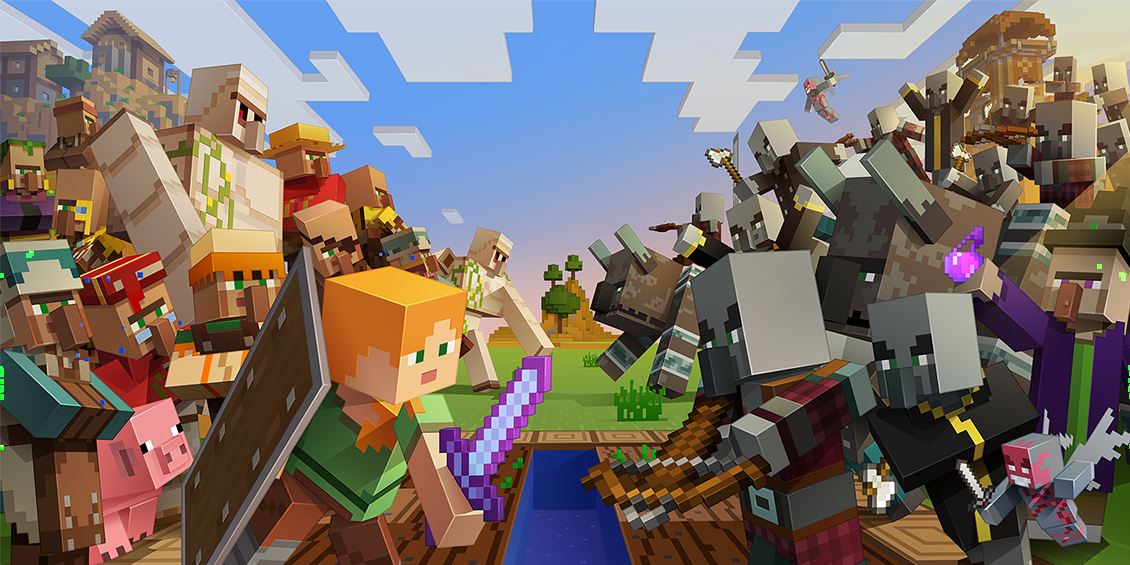 Here S Everything New And Changed In The Minecraft 1 14 1 Pre Release Minecraft 1 Minecraft Posters Minecraft Wallpaper
