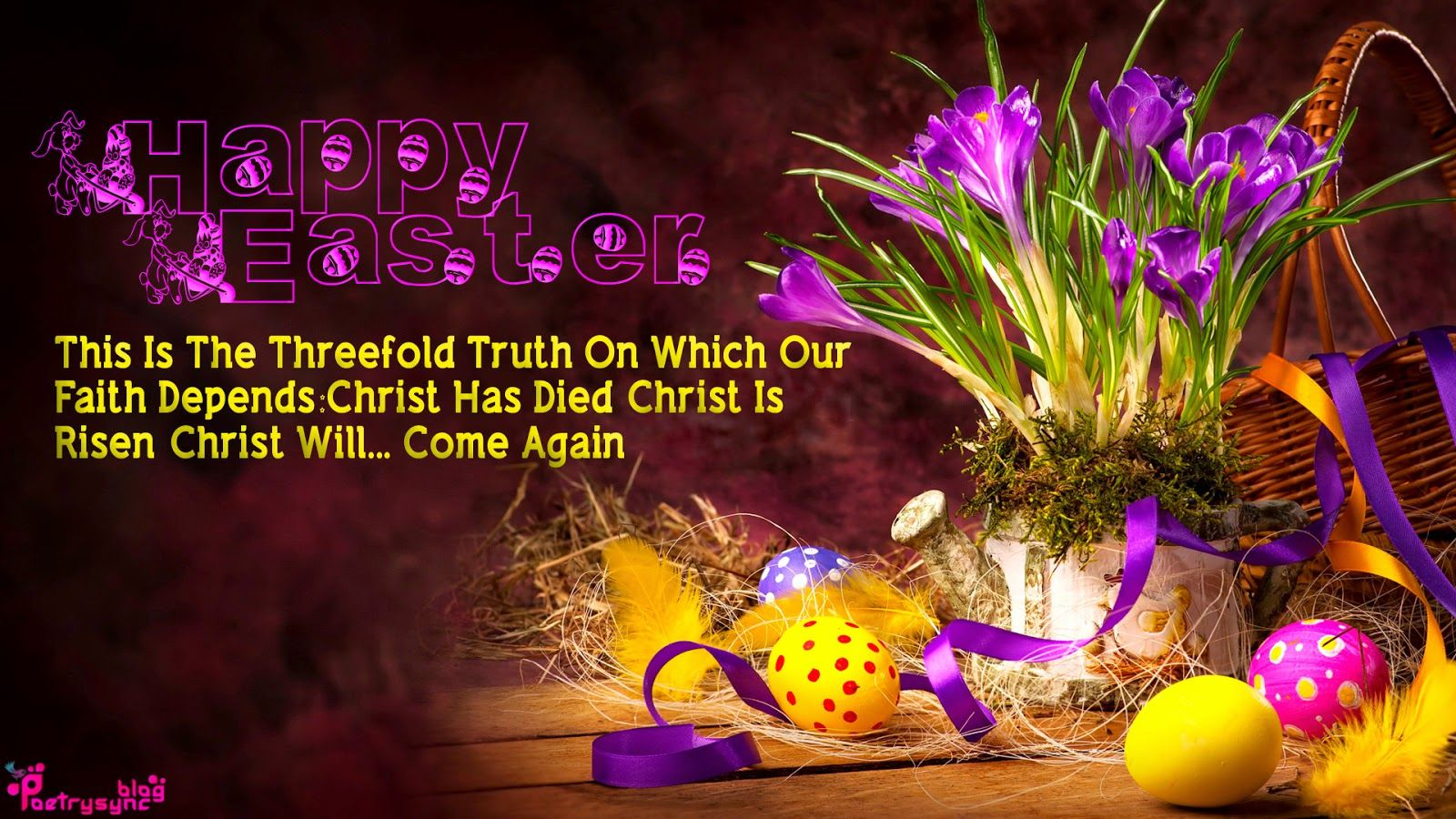Happy easter wishes hd wallpaper fb covers easter pinterest happy easter wishes hd wallpaper kristyandbryce Choice Image