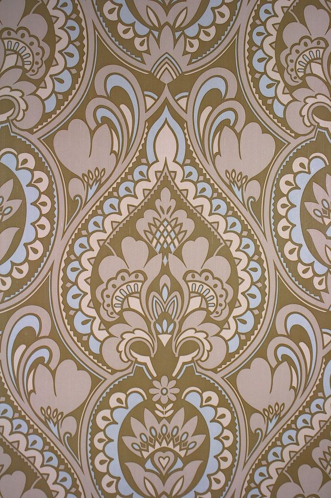 retro baroque wallpaper original vintage baroque vinyl