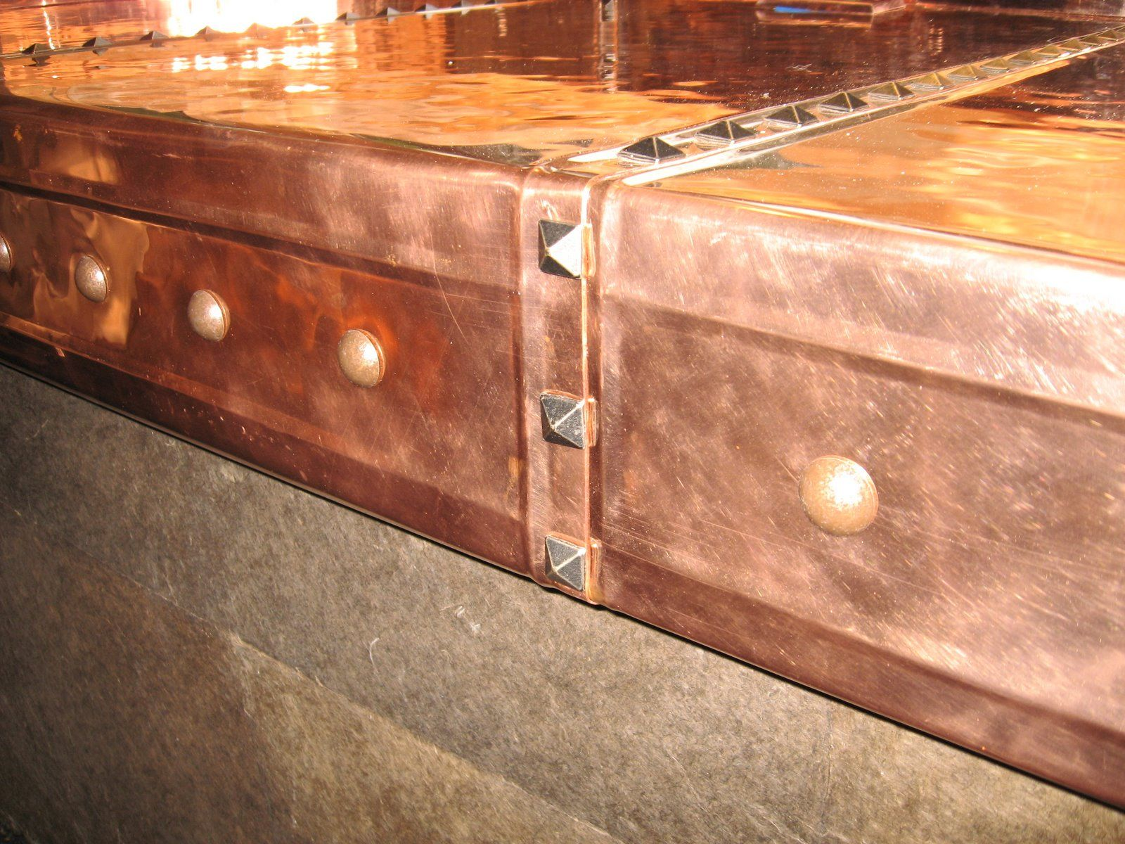 Copper Copper Bar Copper Top Table Countertops