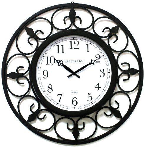 Robot Check Large Metal Wall Clock Wall Clock Wall Clock Modern