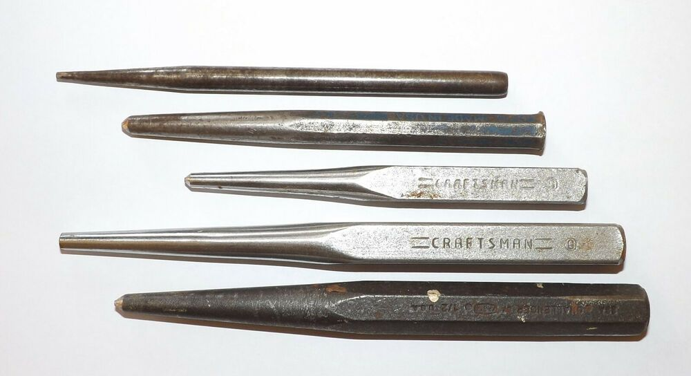 Nail Punch Vintage Lot Of 5 Vintage Leather Craft Tools Vintage House