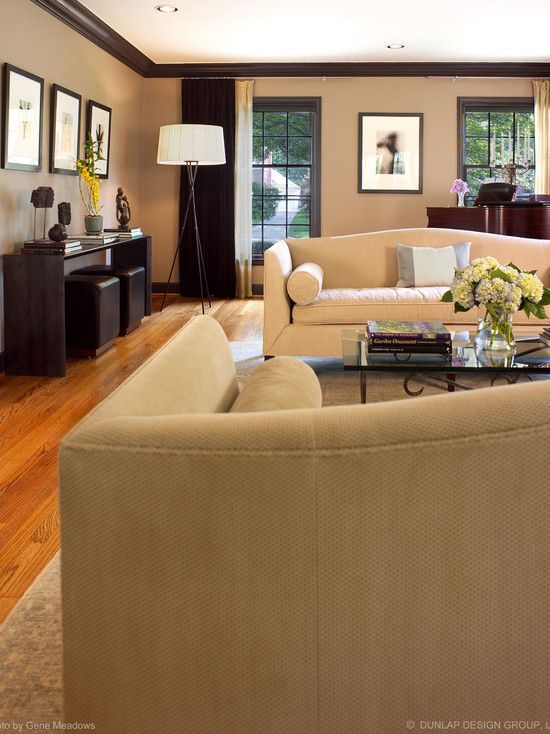Modern Living Room Brown Leather Couch Design Pictures Remodel