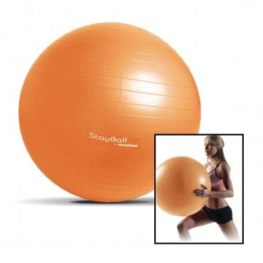 NordicTrack StayBall 55cm 2Lb Exercise Ball - 51% More Muscle