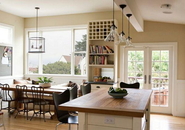 Landhaus Einrichtung Ideen Küche Und Esszimmer | Kitchens