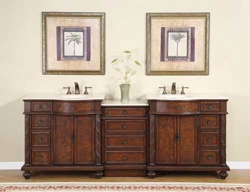 Pearce Double 90 Inch Modular Bathroom Vanity With Top Choice