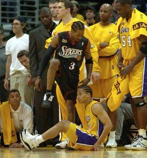 Nba Youtube Mix Review The Answer The No Look Pass Allen Iverson Tyronn Lue Nba Youtube