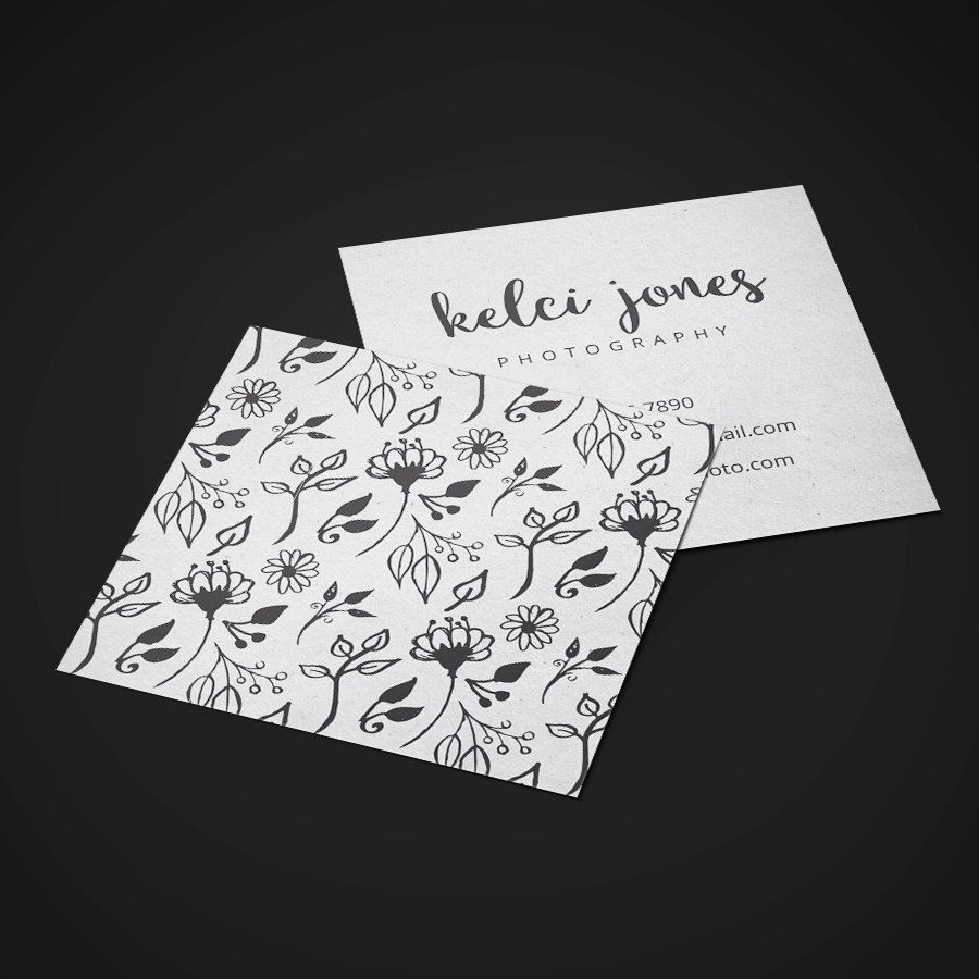 Really neat Premade Square / Cube Business Card Design - Print Ready ...