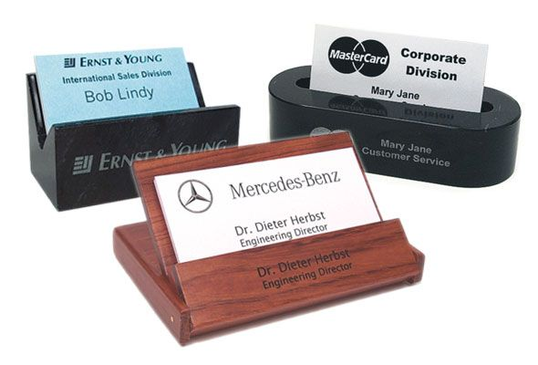 Customizable business card holders arts arts custom business card holder put your name on it pinterest personalized colourmoves
