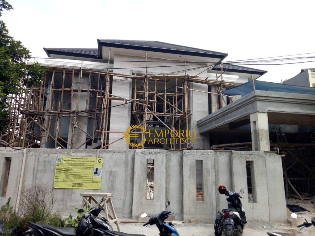 Mrs. Indah Classic House 2 Floors Design - Jakarta