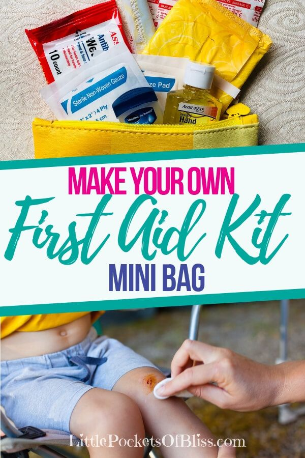 First Aid Kit Bag... How To Make, What To Include and Why - Little Pockets of Bliss