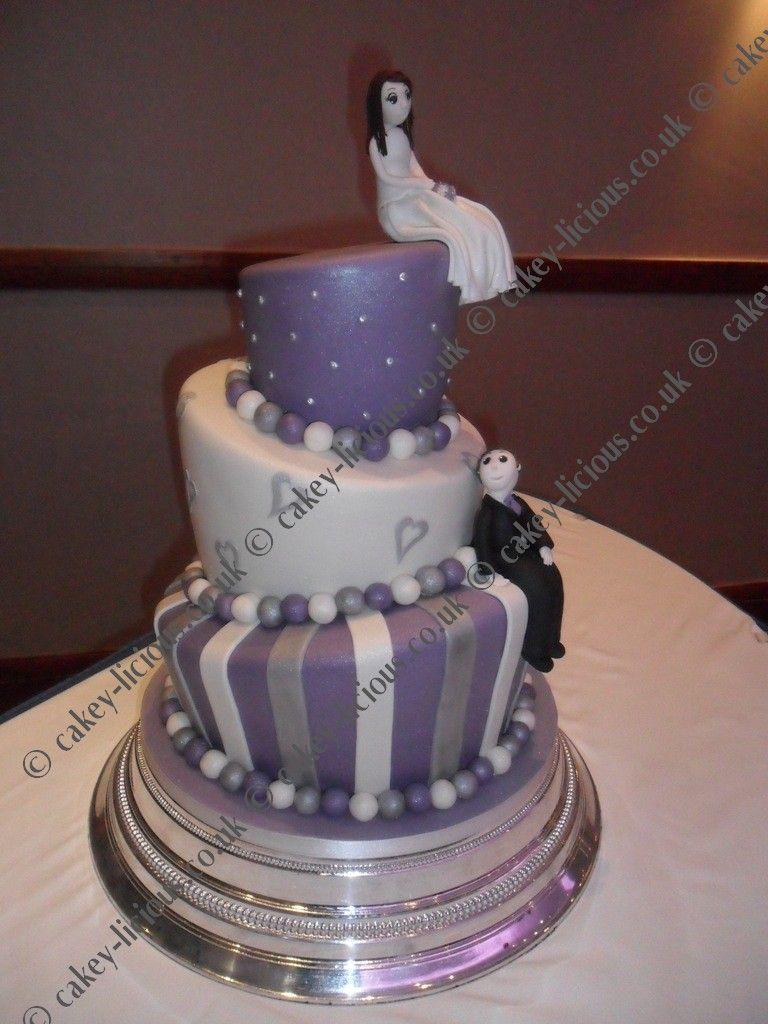 Topsy Turvy Wedding Cake Cakes