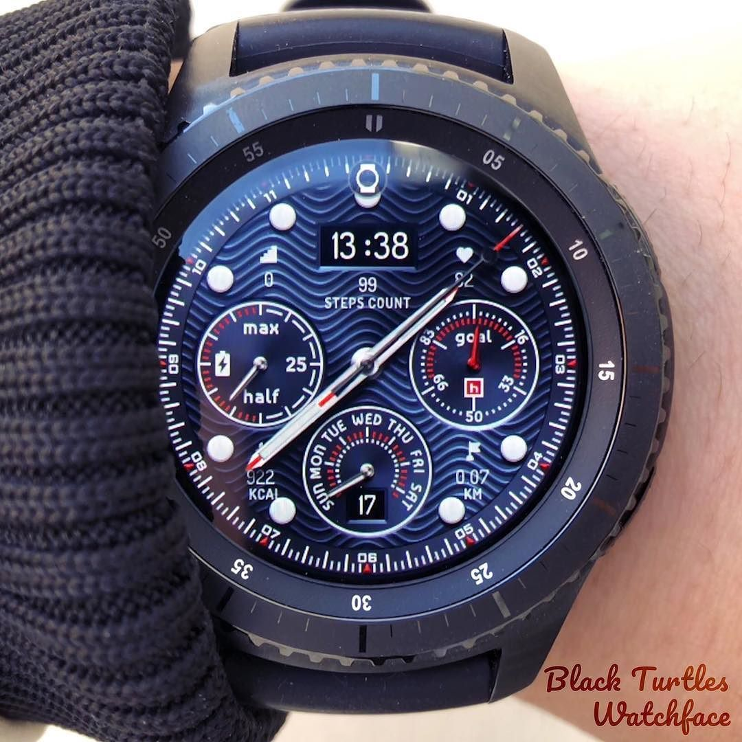 The watermarked background is an impressive watch face. It is recommended if you want to see the feast of beautiful and luxurious lines. Search ...