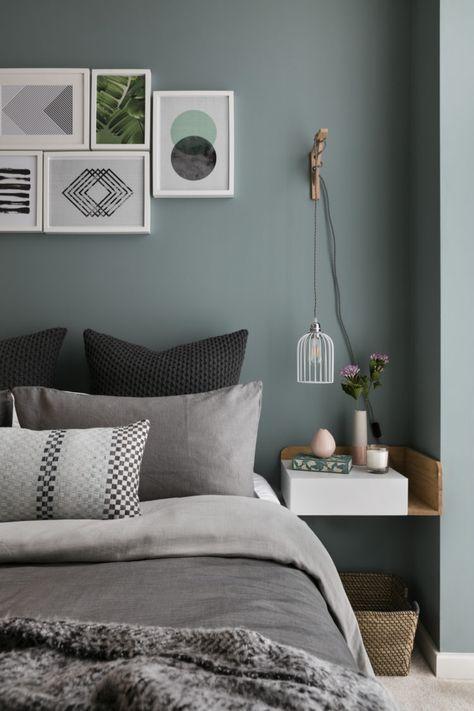 Pin von Jeannette auf Farben Pinterest Wandfarben - schlafzimmer weiß grau