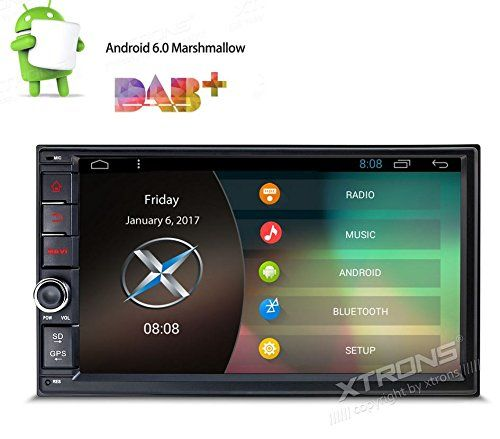 XTRONS 7 Inch Android 6 0 HD Digital Multi-touch Screen Car Stereo