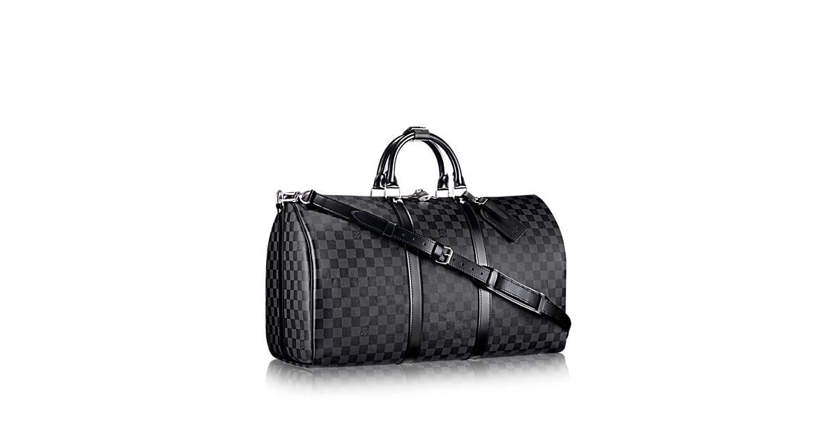 Discover Louis Vuitton Keepall Bandouliere 55 This urban travel bag in a  revisited classic 362399a932195