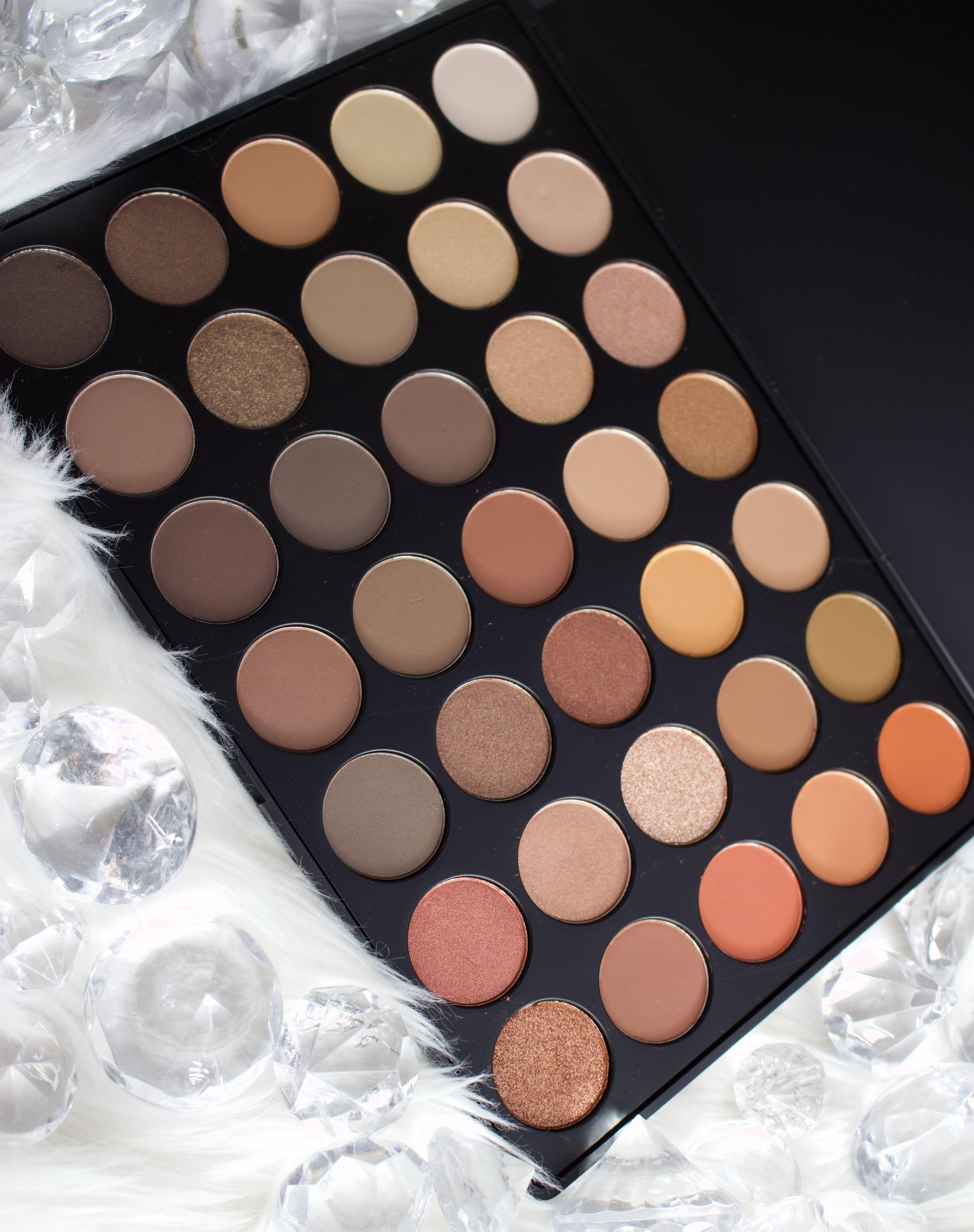 Morphe 35O palette, warm neutral eyeshadow, Morphe Brushes
