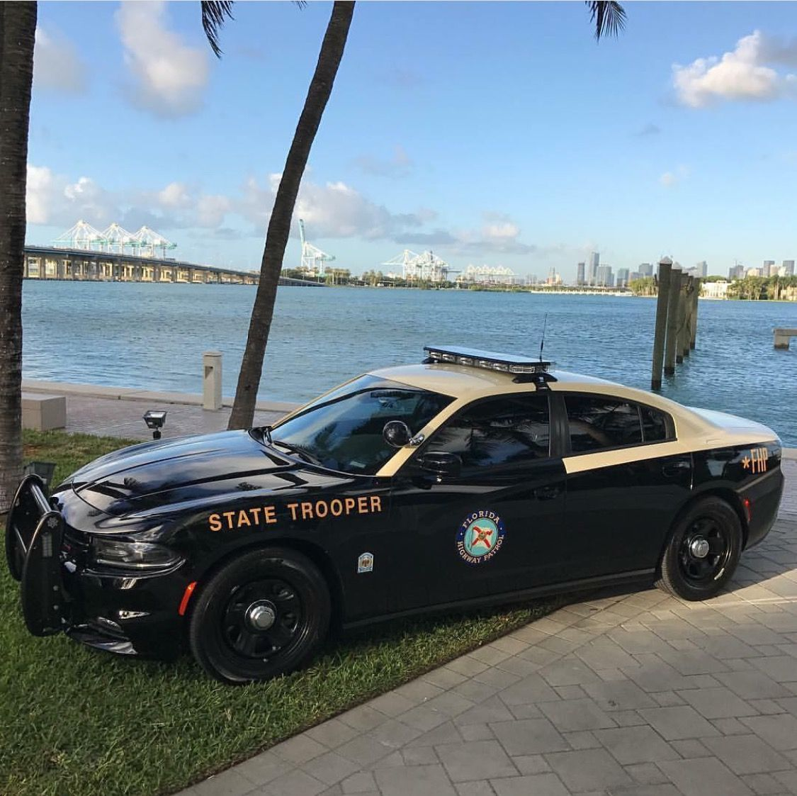 Florida Highway Patrol State Trooper Dodge Charger Police Cars Police Truck Police Patrol