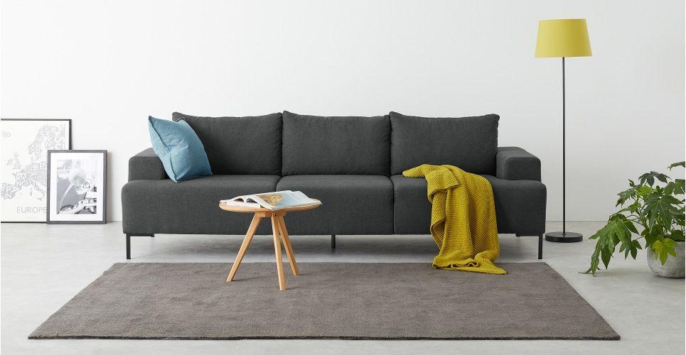Made Essentials Oskar 3 Seater Sofa Shetland Slate