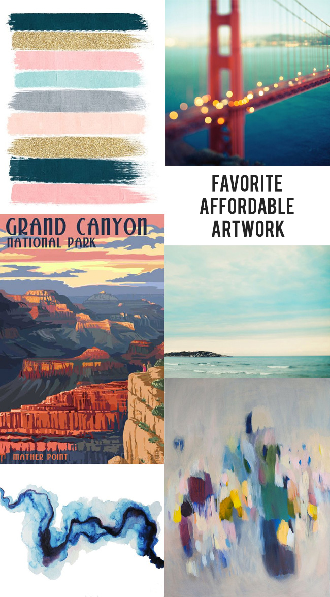 6 Great Large Art Pieces Under $100