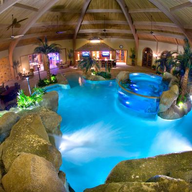Tropical Pool Design - Indoor For the Home Pinterest Tropical