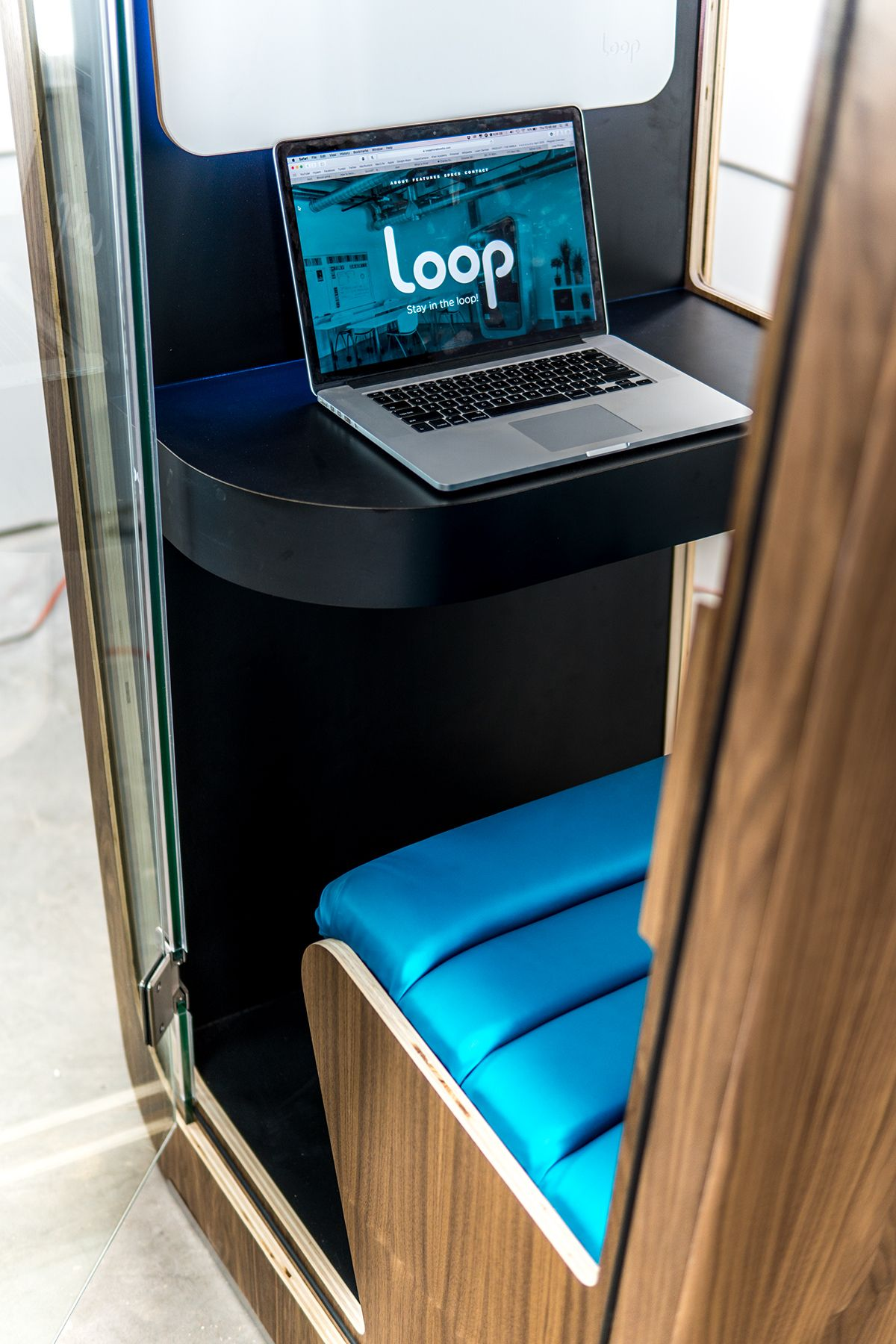 Loop Phone Booths on Behance in 2020 Phone booth, Phone