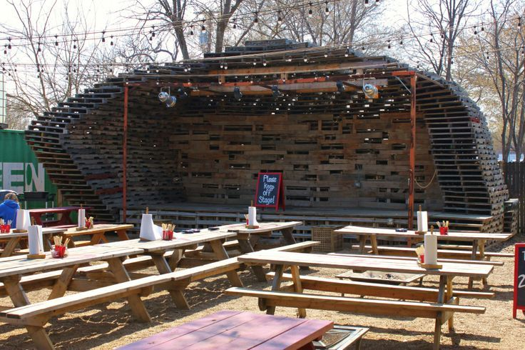 Image Result For How To Build An Outdoor Stage
