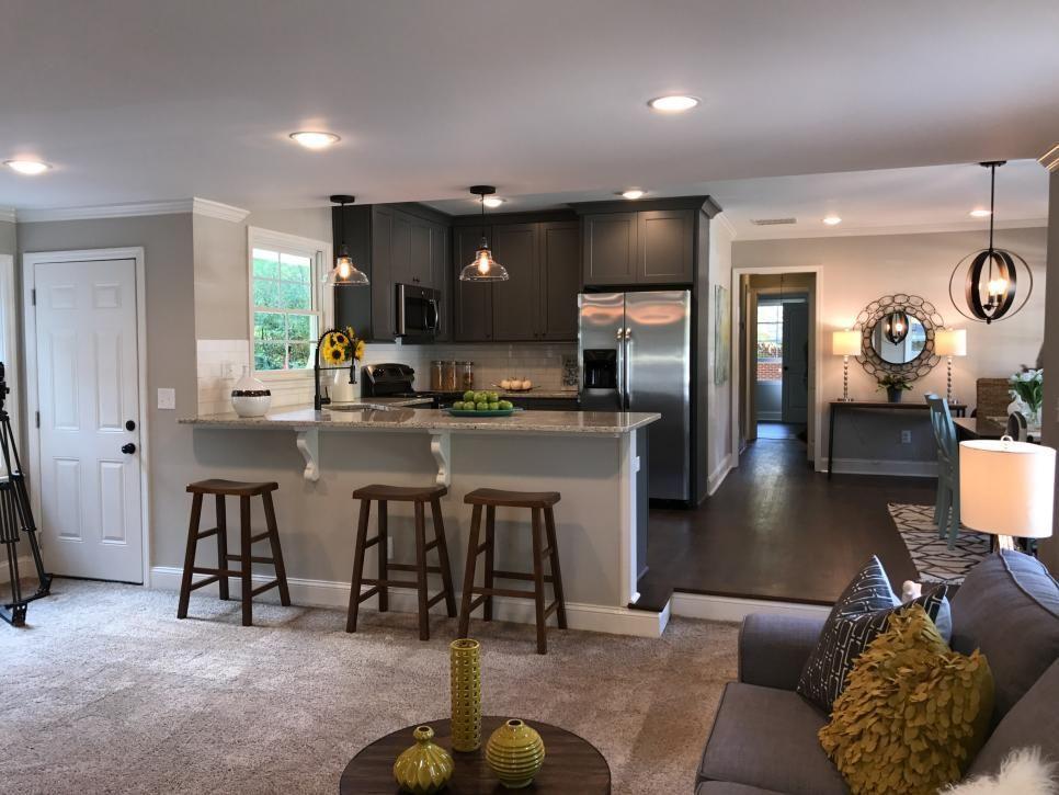 Kitchen Living Rooms Remodeling Atlanta-based real estate ...