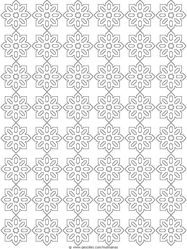 geometric page pattern coloring sheets pages geometric patterns coloring